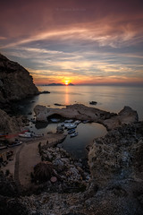 Summer sunset (CasCriS) Tags: summer sunset landscape panorami italiani italy poster
