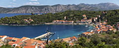 Adriatic secrets (cherryspicks (on/off)) Tags: racisce croatia korcula island adriatic sea landscape panorama seaside harbor summer travel village fishing cove bay shore outdoor scenery peljesac