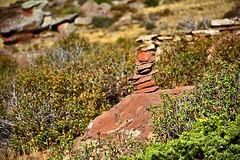 Follow me (jessaliagacea) Tags: stones nature nikkon spain path herbage route montain outdoor