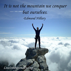 quote-liveintentionally-it-is-not-the-mountain-we (pdstein007) Tags: quote inspiration inspirationalquote carpediem liveintentionally