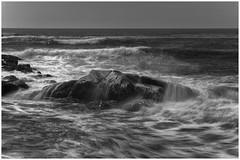 Waves, Biddeford, Maine (Sven Schweiger) Tags: nikond4 maine usa nikkor 70200mm ndfilter tripleexposure