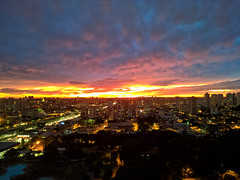 Today's Dawn (Diego3336) Tags: cameraphone brazil sky urban cloud latinamerica southamerica brasil skyline clouds sunrise buildings dawn nokia twilight cityscape saopaulo sp microsoft lumia pureview lumia930
