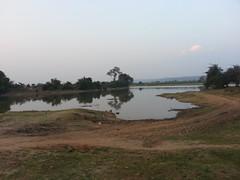 Water harvesting pond