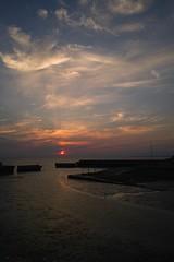 SDIM5468 (Keishi Etoh rough-and-ready photoglaph) Tags: sunset 28mm sigma foveon  dp1 omuta   ariakebay sigmadp1x dp1x