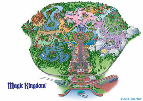 florida map 2006 magickingdom waltdisneyworldresort floridatour