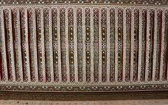 marrakesh cedar ceiling (2) (kexi) Tags: lines canon ancient muslim ceiling morocco cedar maroc bahia marrakesh february 2015 maroko bahiapalace muslimart instantfave