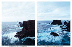 Esha Ness, Shetland. 11 May 2015 (Michael Lambert) Tags: sea nature water landscape island coast scotland rocks fujifilm shetland x10 eshaness fujix10