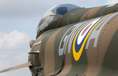 Coningsby Camo Typhoon  10 (Sam Wise) Tags: airplane french media force outdoor aircraft military air hurricane wwii jet royal lincolnshire camouflage vehicle xingu spitfire launch tornado dc3 dakota vc typhoon raf c47 embraer coningsby fgr4