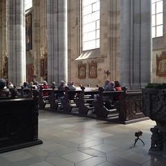 Église St-Georges-Daniel, Dinkelsbühl, Germany. (Dguyzé) Tags: pinhole setup makingof zeroimage zero69 sténopé setupshot
