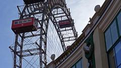 Vienna Giant Wheel (stefans_box) Tags: vienna wien city november wheel giant austria sterreich europa europe ferris riesenrad prater 2014 stefansbox