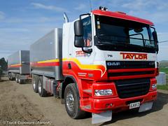 Taylor Bros Transport DAF CF (Truck Exposure) Tags: dumptruck coe cabover truckntrailer