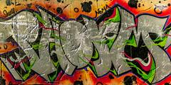Street Art #1 (4k) (Take a Squiz Photography) Tags: autumn black colour d3 green horizontal indoor nikon orange red streetart white yellow mayfieldwest newsouthwales australia au fx2470mmf28 gray magenta 4k dusk ultrahighdefinition uhd hd nikkor nikond3 dslr nikonfx2470mmf28 2470mmf28 bright graffiti urbanartphotography