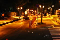 Walking at night - Kifissia (g_athens [swaping]) Tags: car night lights walk kifisia αυτοκίνητα βράδυ φώτα κηφισιά βόλτα