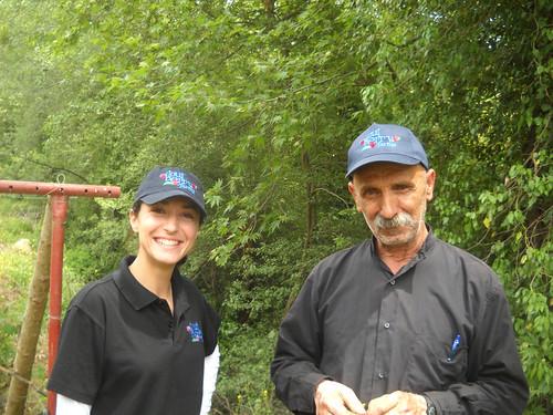 Nabeh Elsafa visit Talal Sarah & Sheikh Monitor Plants a May 3, 2015