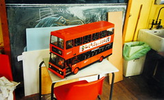1/8 Scale Cardboard Model Of A Glasgow Scotland Strathclyde Volvo Citybus Made Completely Made Of Recycled Materials - 1 Of 3 (Kelvin64) Tags: scale scotland volvo model recycled glasgow made cardboard 18 materials strathclyde completely citybus a of