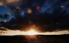 Sunset - Aberdeen International Airport Radar Tower (Explored) (PeskyMesky) Tags: sunset tower canon scotland airport aberdeenshire international aberdeen cloudscape radar bridgeofdon canoneos500d