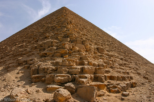 Red Pyramid, Dahshur necropolis, Egypt