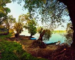 Look from the riverbank (Katarina 2353) Tags: summer film nikon europe serbia danube donau srbija dunav katarinastefanovic cortanovci katarina2353