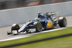 Marcus Ericsson (TomGay81) Tags: marcus ericsson sauber f1 formula one car racing speed pan blur british grand prix 2016 silverstone