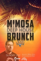 """$10 bottomless mimosas every SUNDAY at Crazy Goose (formerly Quality Social) at our """"MIMOSA DEEP HOUSE BRUNCH"""" (789 6th Ave, on 6th & F)!  BRUNCH: 10am-3pm.  *Happy Hour starts @ 3pm; Last mimosas go out at 2:30pm (See www.MRP.club for info on this and ot (markrondeaupresents) Tags: housemusic gaslampsd sdcc sdnightlife socal crazygoose sdsu usd crazygoosebar sddj sdmusicscene dtsd sunday deephouse comeplay daygo markrondeaupresents sundaybrunch mesacollege edmsd sdclubbing sd ucsd sixonenine sandiego sdbrunch sdliving gaslamp brunchandbubbles mrp"""