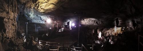 Lost World Caverns panorama