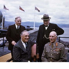 9-1944  Quebec Conference (ngao5) Tags: adult alexanderearlofathlone alliance allied british canada canadian caucasianethnicity conference elderly english european few firstquebecconference four fourpeople franklindelanoroosevelt government governmentminister governmentofficial governorgeneral group groupofpeople groupportrait halflength headofstate leader male meeting men northamerica northamerican people politicalleader portrait president primeminister quebec quebeccity quebecconferences senioradult smallgroupofpeople stlawrenceriver wlmackenzieking war westerneuropeanculture westerneuropeandescent winstonchurchill worldwarii