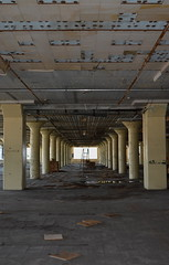 'Dixie Cup Factory' (miranda.valenti12) Tags: dixie cup factory abandoned leading lines ladder sunlight tunnel ceiling ground dark windows window pillars pillar old building