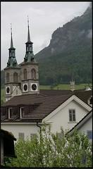 Neo-Romanesque Church of Glarus Switzerland (Tamilpoems (Tamil kavithaigal)) Tags: catholic catholicchurch church glarus geneva bern interlaken mnnedorf zug zurichcity zurich switzerland swisstravel swissreligion swissmountains swissfestival schweiz suisse europe google twinstower glarusgemeinde glaruscity people god city temple jesus