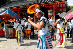 Sumiyoshi-matsuri, Osaka (jtabn99) Tags: dance yukata kimono osaka japan nippon nihon 20160801 drum festival sumiyoshitaisha shrine summer