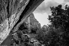 Just A Trickle! (dazzbo1) Tags: zion national park trail hike walk emerald pools usa america utah mountains rock trees path pathway trek beautiful serene scenery view