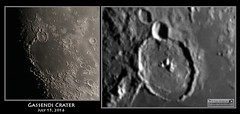 Gassendi Crater (Tom Wildoner) Tags: shadow moon mountain canon video mare space july science telescope crater astrophotography impact astronomy stacking apollo lunar solarsystem powermate meade astronomer 2016 lx90 registax gassendi televue humorum canon6d tomwildoner leisurelyscientist leisurelyscientistcom