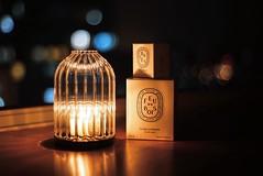 Light up my world (littlelittlethingsinlife) Tags: bokeh lifestyle bougie productphotography productshot nightshot light diptyque candle