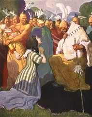 """""""The Supplicant"""" by N. C. Wyeth from """"The Last of the Mohicans"""" by James Fenimore Cooper. NY: Scribner's, 1919. First edition (lhboudreau) Tags: book books hardcover hardcovers hardcoverbook hardcoverbooks vintagebook vintagebooks classicbook classicbooks classicnovel classicstory art artist illustrator illustrated illustration illustrations drawing drawings illustratedbook illustratedbooks illustratedclassics bookart wyeth ncwyeth 1919 illustratedclassic vintageillustration vintageillustrations classicillustrator classicillustrations vintagebookillustrations vintagebookillustration lastofthemohicans mohicans thelastofthemohicans cooper jamesfenimorecooper fenimore uncas frenchandindianwar 1757 nattybumppo hawkeye chingachgook americanindian americanindians nativeamerican nativeamericans indians indian charlesscribnerssons scribners charlesscribners firstedition fiction supplicant thesupplicant"""