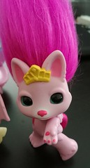 prettykit close (meimi132) Tags: zelfs zelf series6 cute adorable trolls prettykit cat kitty kitten pretty pink tail bow