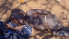 Sleeping Child, Otjikandero Himba Village, Kunene, Namibia (dannymfoster) Tags: africa namibia otjikandero himbavillage otjikanderohimbavillage people africanpeople himba himbachild baby