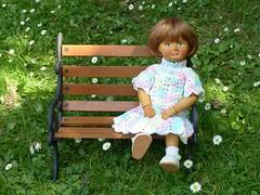 Summer Fancy (Balancing Kiwi) Tags: hazel woodendoll bleuette garden summer