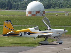 G-IINI Vans RV9A (Aircaft @ Gloucestershire Airport By James) Tags: gloucestershire airport giini vans rv9a egbj james lloyds