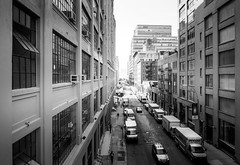 Highline Park Manhattan (mfoxb) Tags: highland newyork olympus street explore strase bnw monochrome city chelsea manhattan