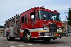Service de protection contre l'incendie de la Ville de Qubec (Gerard Donnelly) Tags: 06612 204 fire truck camion pompier