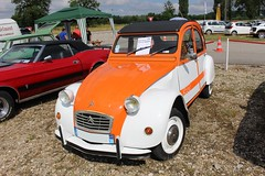 Citron 2cv Spot de 1980 (alex73s https://www.facebook.com/CaptureOfAlex?pnr) Tags: auto automobile ancienne automotive car coche classic canon citroen vehicule voiture transport rassemblement retro old oldcar macchina meeting european europeenne french francaise spot 2cv deudeuche deuche orange