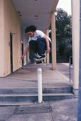 0008510_0008510-R1-E008 (dannondale) Tags: skateboarding sanfrancisco nikonf2a expiredfilm photoworks400 grain polejam