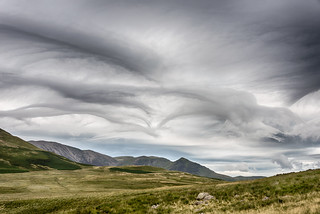 Asperitas cloud formations over Crummock