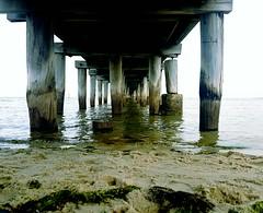 Altona Beach Pier (Roby Bonnes) Tags: altona altonabeach beach pier water ocean sea melbourne fishing