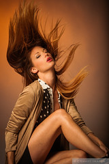 Fly Away (Pdooma) Tags: mac mackenzie brunette hair flip glamour fashion vogue
