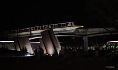 Moonlight Monorail (ddindy) Tags: monorail epcot waltdisneyworld disneyworld disney orlando florida