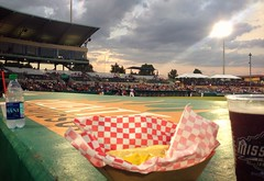 Perfect breezy night for a baseball game. Cold Beer + Hot Dog at Wolff Stadium Missions vs Arkansas. (Howdy, I'm H. Michael Karshis) Tags: wolff baseball missions mavericks madison karshis wellman texas sanantonio