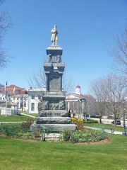 Sussex County Civil War Memorial, April 17,2016 (rustyrust1996) Tags: sussexcounty newton newjersey courthouse civilwarmemorial newtongreen