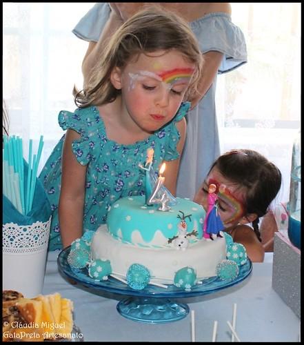 Festa aniversário tema Frozen