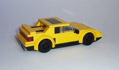 Pontiac Fiero Formula (MOCs & Stuff) Tags: lego city town speed champions alternate pontiac fiero formula
