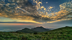 () (szintzhen) Tags:           taipeicity taiwan datunmountain mountain cloud sky sunset sunglow photomerge